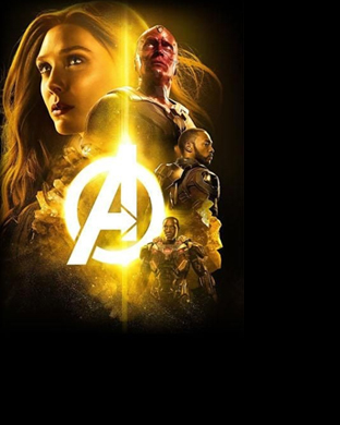 Avengers: Infinity War Apple Watch Wallpaper Vision Scarlet Witch